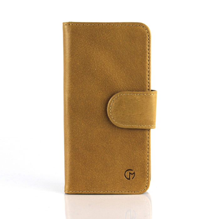 Apple iPhone 6S Plus Leather Wallet Case | Tan
