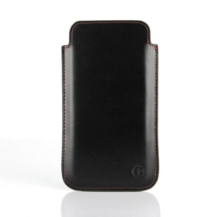 Apple iPhone 6 Plus Leather Pouch | Black