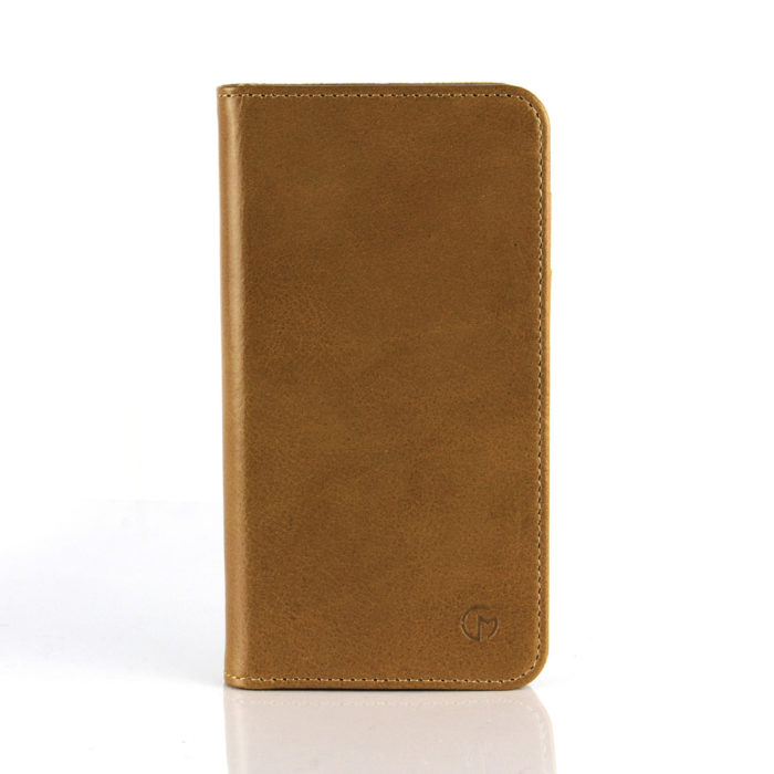 Samsung Galaxy S6 Leather Wallet Case | Tan