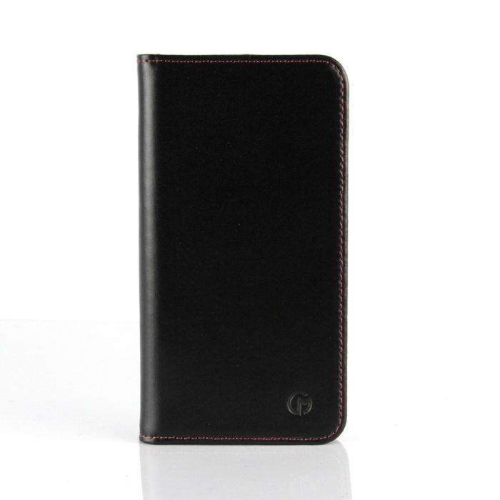 Samsung Galaxy S5 Leather Wallet Case | Black