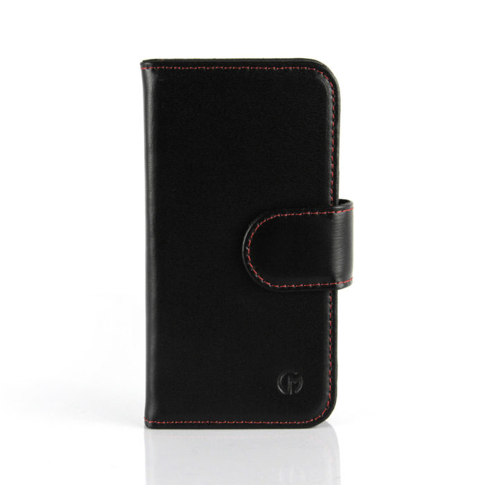 Apple iPhone 6S Plus Leather Wallet Case | Black