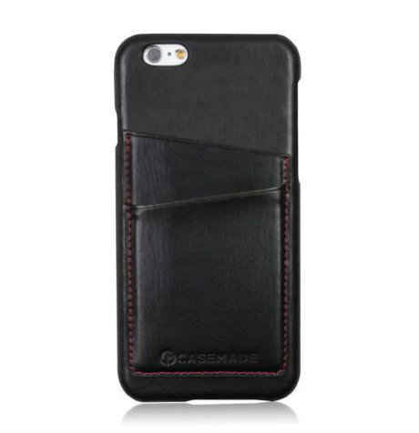 Apple iPhone 6S Leather Back Cover | Black