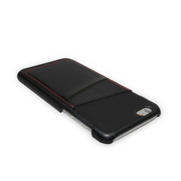Apple iPhone 6 Leather Back Cover | Black
