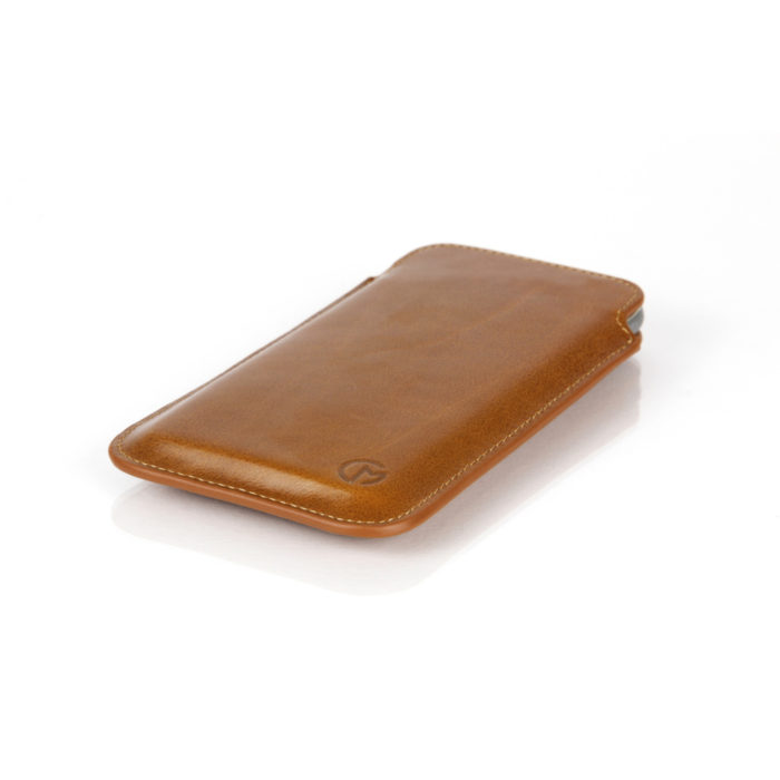 Samsung Galaxy S6 Edge Leather Pouch | Tan