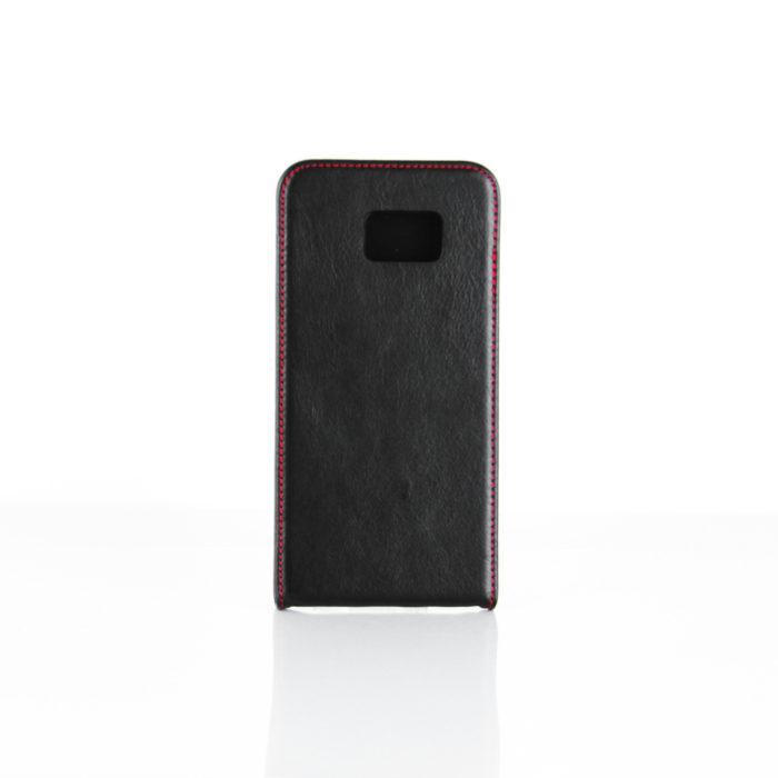 Samsung Galaxy S7 Edge Leather Flip Case | Black