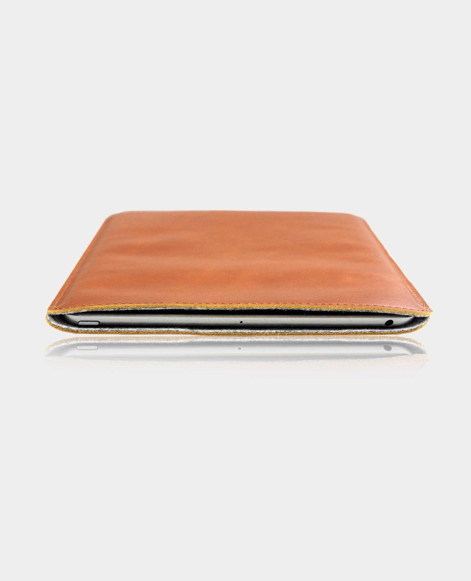 Casemade iPad 10.2 Leather Sleeve Tan